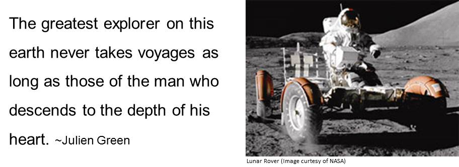 Image of Lubar Rover from NASA representing the exploration of well-being