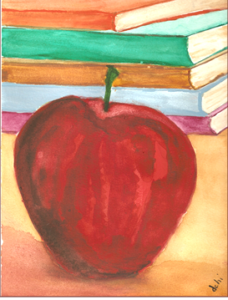An Apple for the Teacher Dedicate the next book you read to the people who taught you to read
