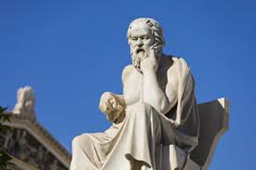 Statue of Socrates at the Athens Academy