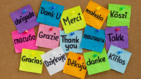 live in gratitude thank you in manylanguages